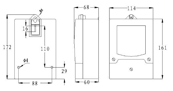 将配套天线可靠连接到集中器天线端子上